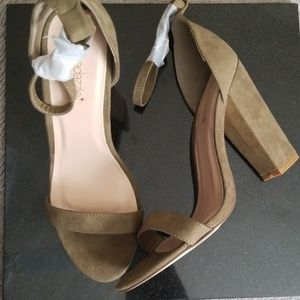 BNIB Size 10 Olive Green sandals
